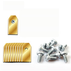 New Product Stainless Steel 0.35-0.45-0.6-0.75mm Garden Trimmer Swing Blades