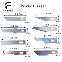 FRONTIER 100 Pcs Pack No.11 Xacto Hobby Blade